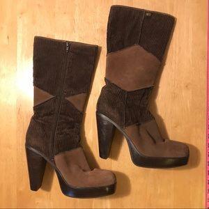 Skechers Somethin' Else Brown Knee High Boots